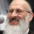 Rabbi Aviner. Against Photo: Dudi Vaaknin