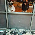 Qassam damages in Sderot (Archive) Photo: Amir Cohen
