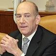Olmert. Outraged Photo: Dudi Vaaknin