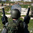 Soldier in Nabi Saleh (Archives) Photo: Reuters