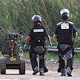 Police sappers (Archives) Photo: Ido Erez