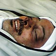 Al-Mabhouh's body Photo: Reuters