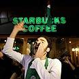 Protestor in Beirut Photo: AP