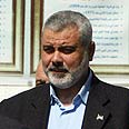Haniyeh: US shedding Muslim blood Photo: AFP