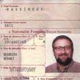 Passport of Eric Rassineux, one of alleged assassins Photo: AFP