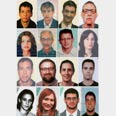 Alleged members of Mossad hit squad Photo: AFP