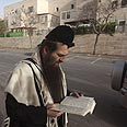Jewish man at Ramat Shlomo Photo: AFP