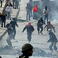 Clashes in Issawiya Photo: AFP