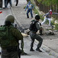 Clashes in Jerusalem on Tuesday Photo: Reuters