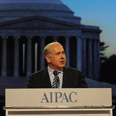 Netanyahu at the AIPAC Conference. 'Country for all Jews' Photo: Amos Ben-Gershom, GPO