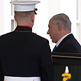 PM Netanyahu arrives at White House Photo: AFP