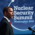 Obama at Washington nuclear summit Photo: Reuters