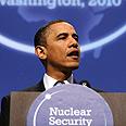 Obama, hints Israel should sign NPT Photo: AFP