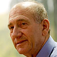 Olmert, stars in article Photo: AP