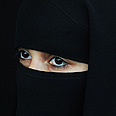 Muslim niqab Photo: AFP