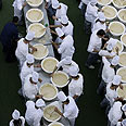 More than 300 chefs working on new record Photo: AFP