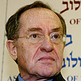 Dershowitz. Israel must launch real war against incitement Photo: Tzvika Tishler
