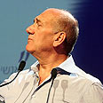 Olmert. Excited to be 'good guy' against Hamas again Photo: Ofer Amram