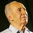 Peres. Honored in song and dance Photo: Hagai Aharon