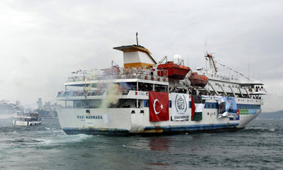 The Mavi Marmara (Photo: Reuters)