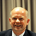 British Foreign Secretary William Hague. Visiting Israel Photo: AFP
