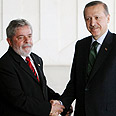 Lula (L) and Erdogan Photo: AFP