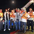 Activists on board aid ship Photo: AP