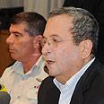 'Complex.' Barak and IDF chief Ashkenazi Photo: Dalit Shacham