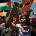 Palestinian rally against flotilla raid Photo: Ali Waked
