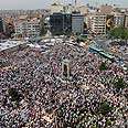 Masses protest in Istanbul square Photo: Reuters