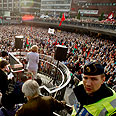 Large protest in Sweden Photo: Reuters
