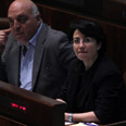 MK Zoabi. Removed from plenum Photo: Gil Yohanan