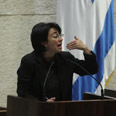 MK Hanin Zoabi (archives) Photo: Gil Yohanan
