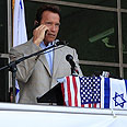Schwarzenegger. Intended to attend Photo: Shosh Maimon