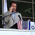 Schwarzenegger. Intended to attend Photo: Shosh Maimon