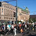 Helsinki, Finland. Six to 10 anti-Semitic incidents a month Photo: Itzik Moyal