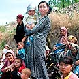 Thousands of Uzbeks forced to flee Photo: AP