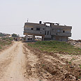 The Abu Hajaj home near Gaza City Photo: Muhammad Sabah, B'Tselem