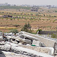 Remains of the Hajaj home near Gaza City Photo: Mahmoud Sabah, B'Tselem