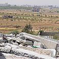 Remains of the Hajaj home near Gaza City Photo: Mahmoud Sabah, B'Tselem
