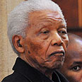 Received honarary degree. Mandela Photo: AFP