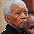 Received honarary degree. Mandela Photo: AFP