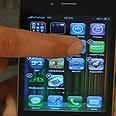 Apple iPhone. SpyKey no longer talk of the day Photo: Hagai Dekel