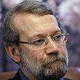Larijani: Blames Israel Photo: Reuters