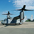 V-22 Osprey Photo: Hanan Greenberg
