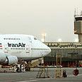 Iran Air plane in Tehran Photo: AP