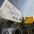 Rally against dance Photo: AFP