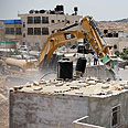 Demolitions in Jerusalem on Tuesday Photo: Noam Moskowitz