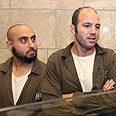 Two of defendants. 'Planned to travel to Chechnya' Photo: Hagai Aharon