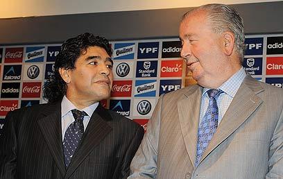 גרונדונה ומראדונה. שיחרר את מסי ממשחקי הנבחרת (גטי אימג'ס) (צילום: GettyImages Image Bank)
